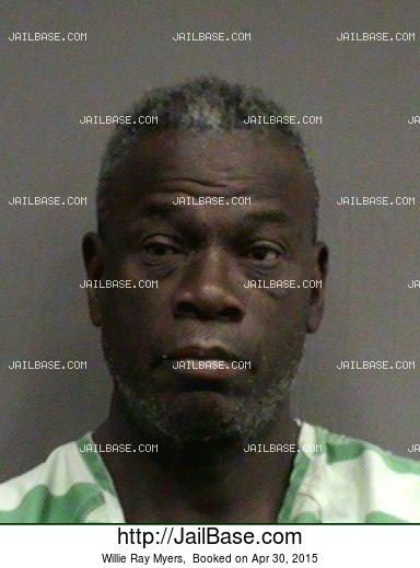 Willie Ray Myers mugshot picture
