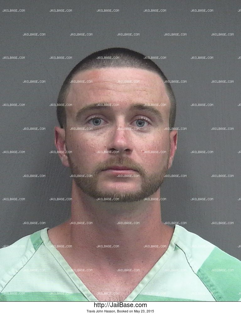 Travis John Hasson mugshot picture