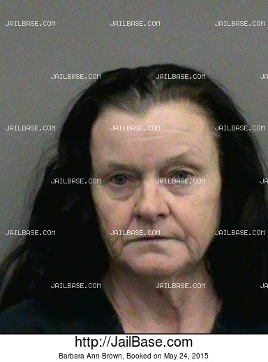 Barbara Ann Brown mugshot picture