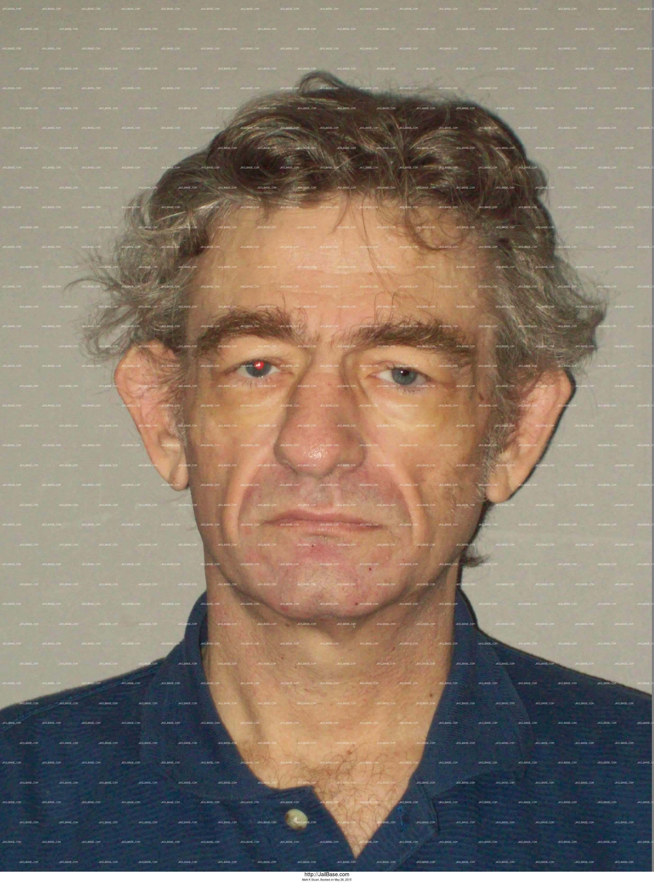 Mark K Stuart mugshot picture