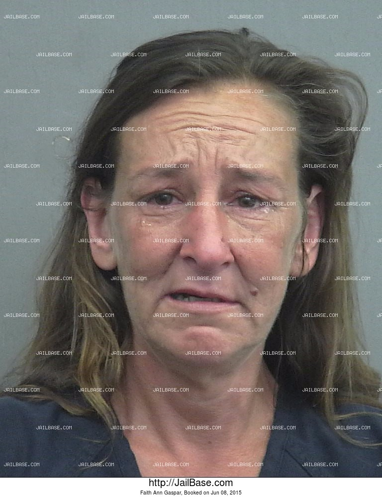 Faith Ann Gaspar mugshot picture