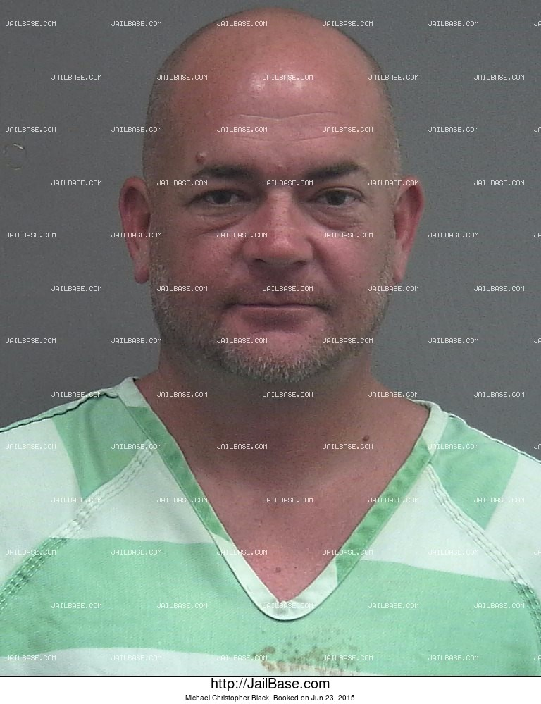 Michael Christopher Black mugshot picture