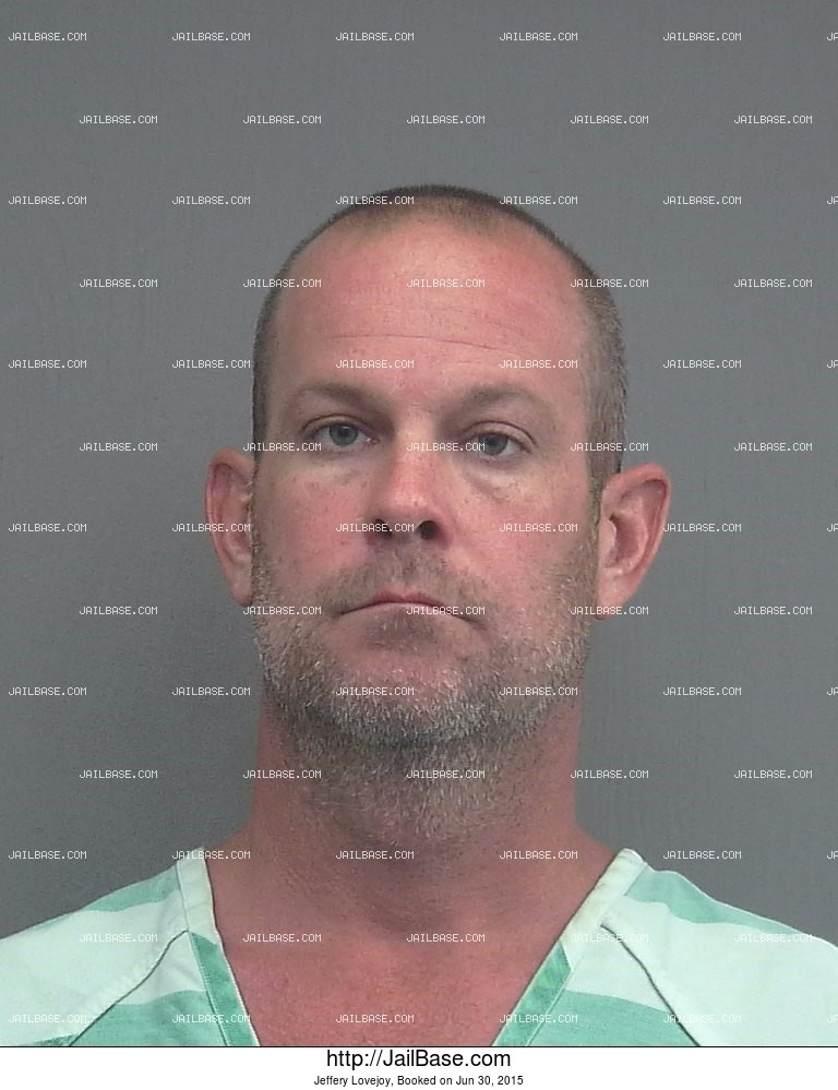Jeffery Lovejoy mugshot picture