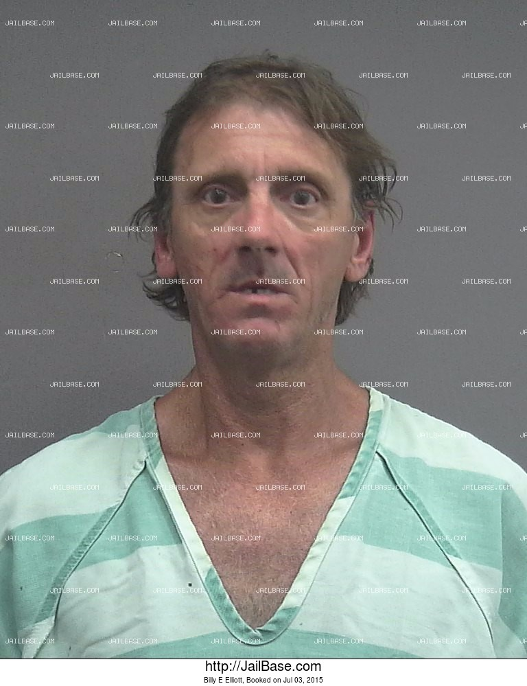 Billy E Elliott mugshot picture