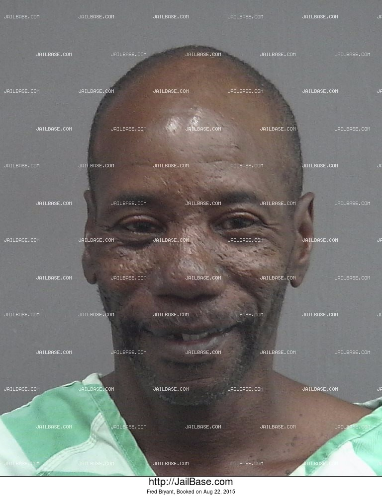 Fred Bryant mugshot picture