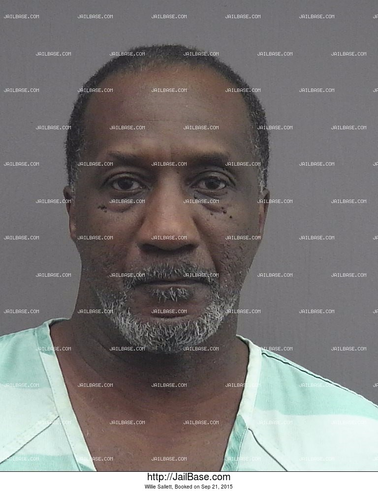 Willie Sallett mugshot picture