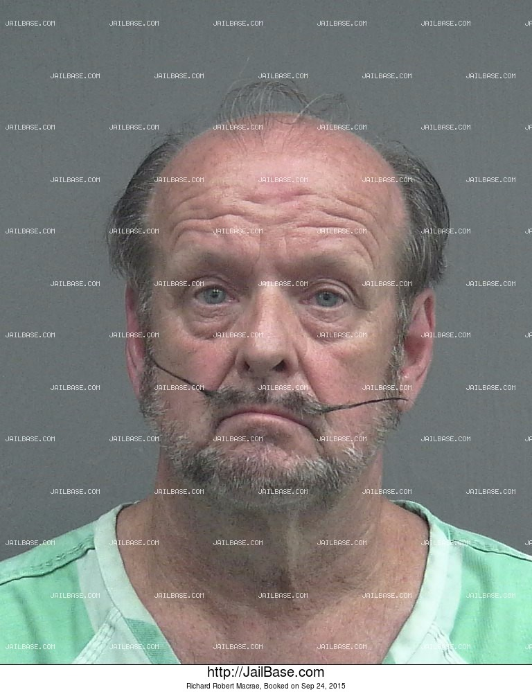Richard Robert Macrae mugshot picture