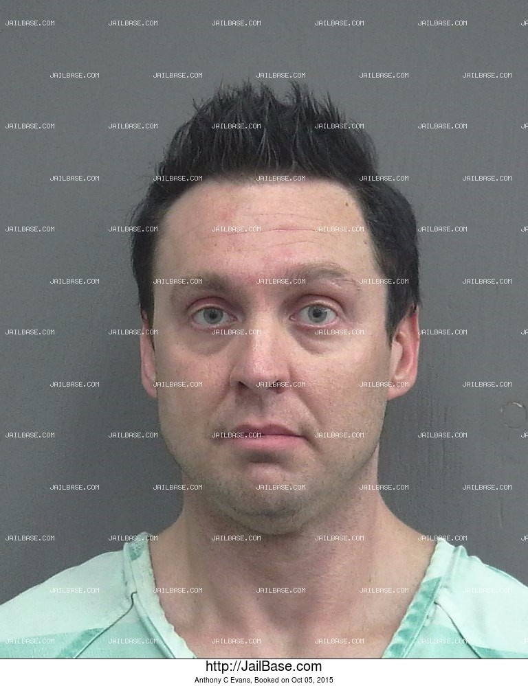 Anthony C Evans mugshot picture