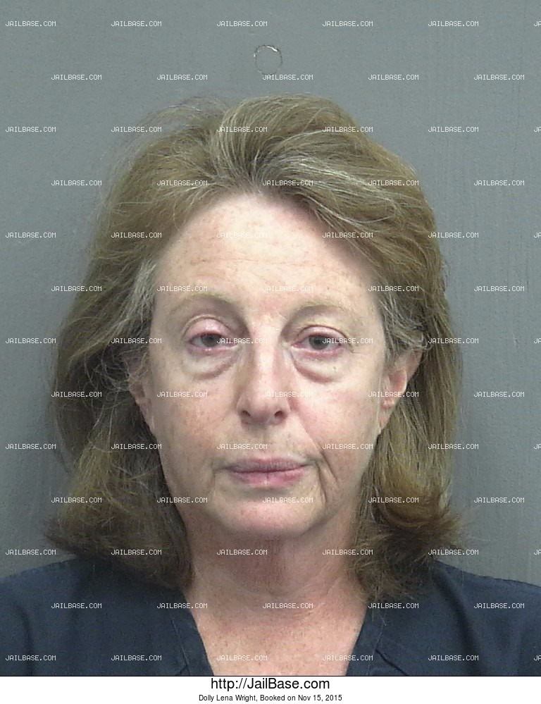 Dolly Lena Wright mugshot picture