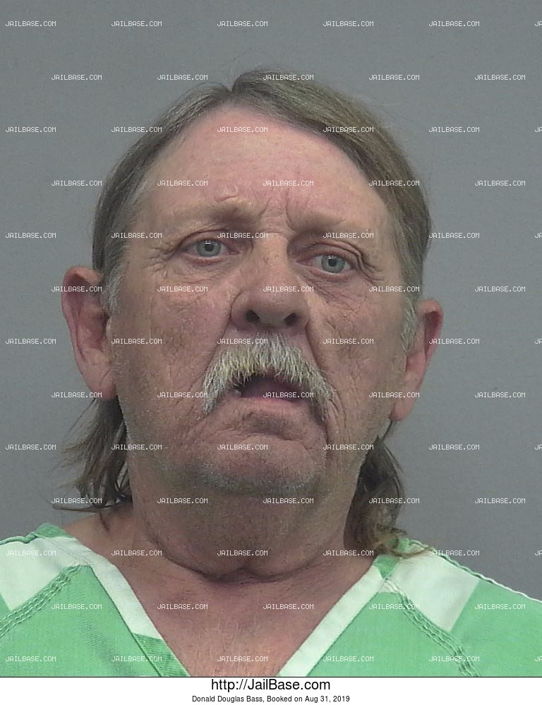Donald Douglas Bass mugshot picture