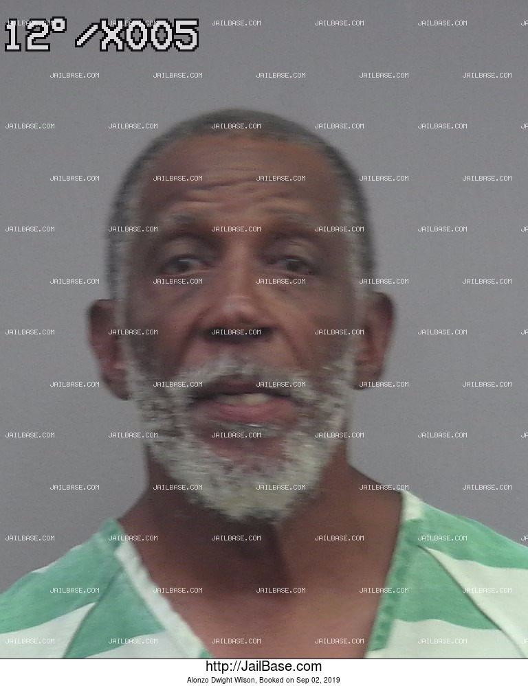 Alonzo Dwight Wilson mugshot picture