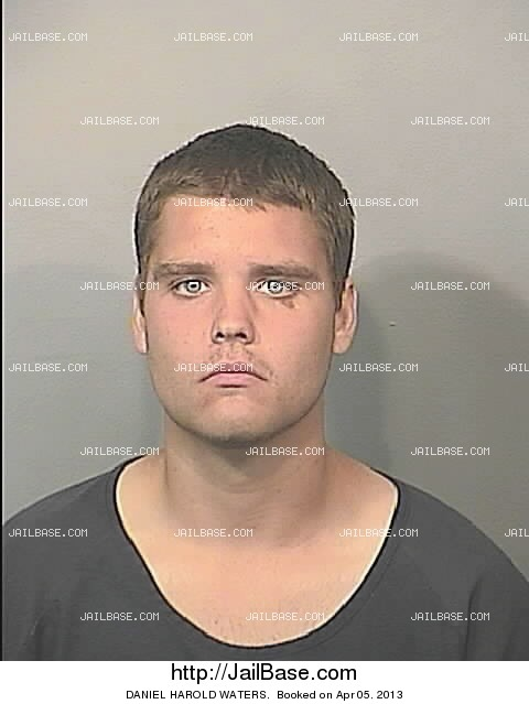 DANIEL HAROLD WATERS mugshot picture
