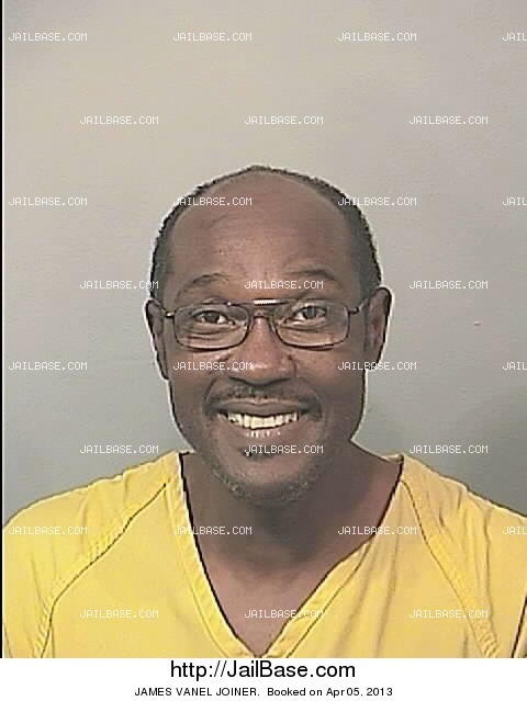 JAMES VANEL JOINER mugshot picture