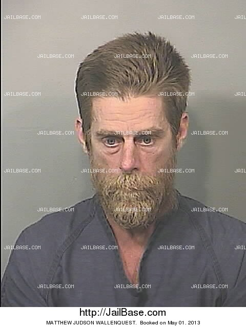 MATTHEW JUDSON WALLENQUEST mugshot picture