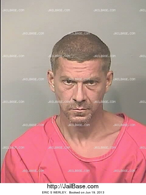 ERIC S WERLEY mugshot picture