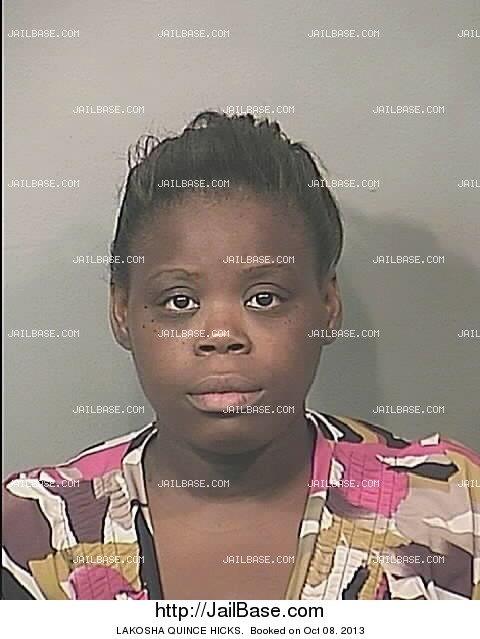 mugshot #1 of LAKOSHA HICKS