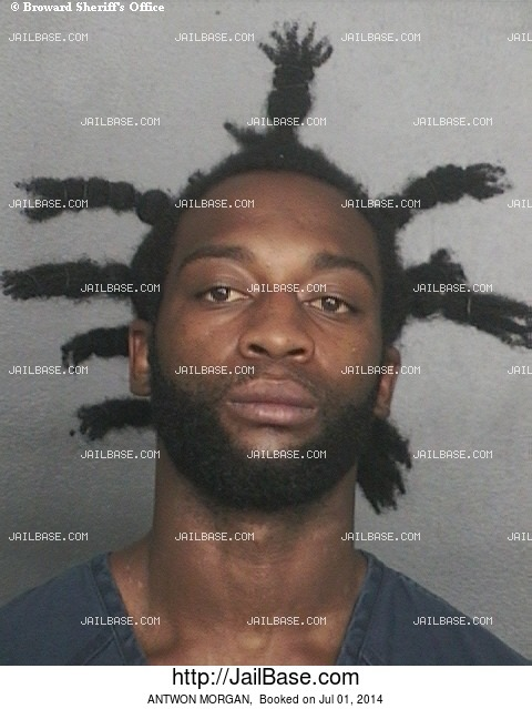 ANTWON MORGAN mugshot picture