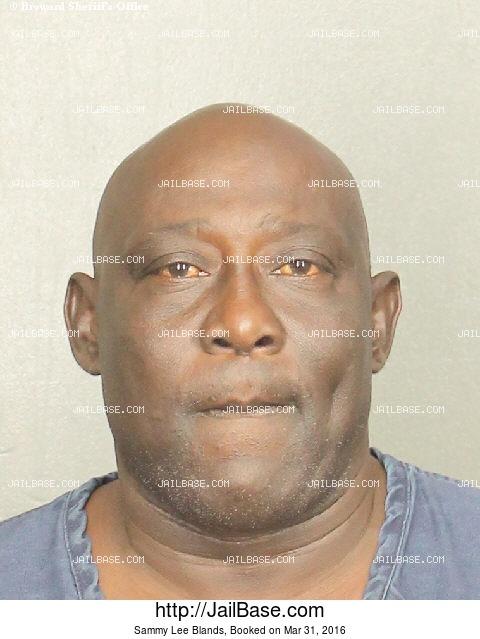 Sammy Lee Blands Arrest History