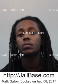 MALIK GALLON mugshot picture