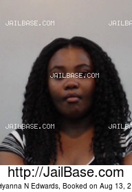 PATRIYANNA N EDWARDS mugshot picture