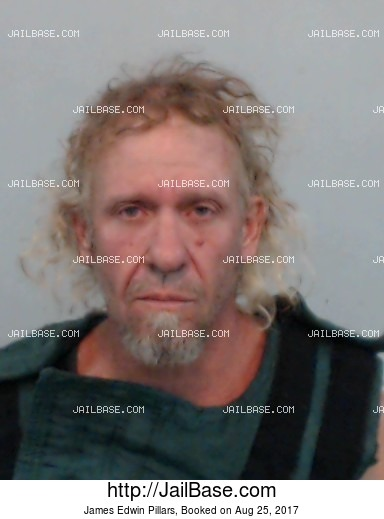 JAMES EDWIN PILLARS mugshot picture