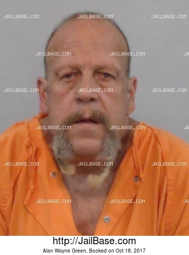 ALAN WAYNE GREEN mugshot picture