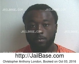CHRISTOPHER ANTHONY LONDON mugshot picture