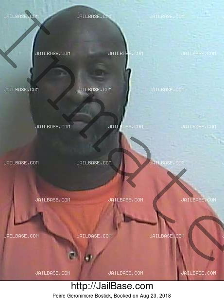 PEIRRE GERONIMORE BOSTICK mugshot picture