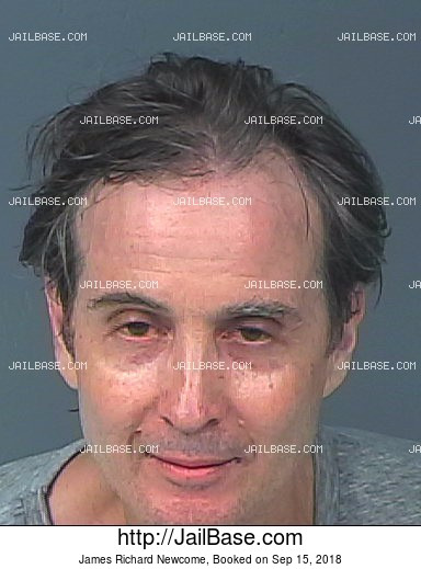 JAMES RICHARD NEWCOME mugshot picture