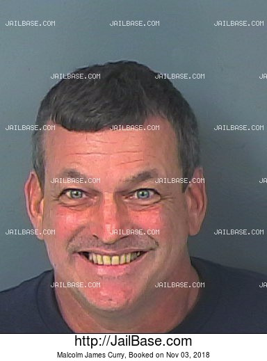 MALCOLM JAMES CURRY mugshot picture