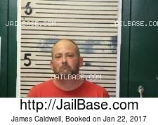 James Caldwell mugshot picture