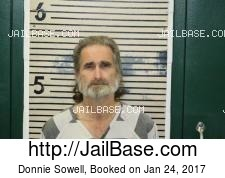 Donnie Sowell mugshot picture