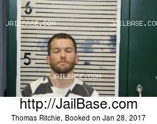 Thomas Ritchie mugshot picture