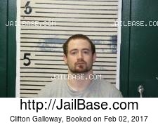 Clifton Galloway mugshot picture