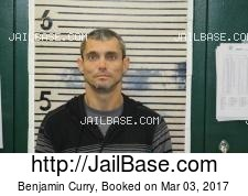Benjamin Curry mugshot picture