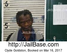Clyde Goldston mugshot picture
