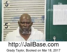 Grady Taylor mugshot picture