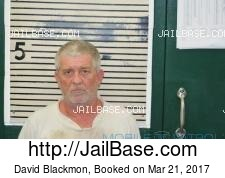 David Blackmon mugshot picture