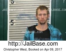 Christopher West mugshot picture