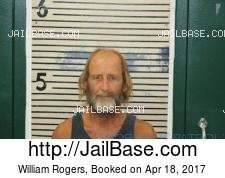 William Rogers mugshot picture