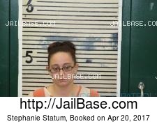 Stephanie Statum mugshot picture