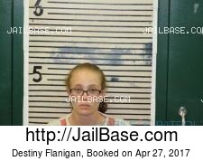 Destiny Flanigan mugshot picture