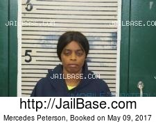 Mercedes Peterson mugshot picture