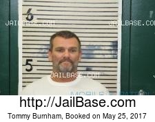 Tommy Burnham mugshot picture