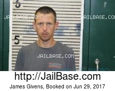 James Givens mugshot picture