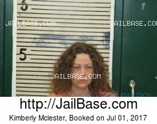 Kimberly Mclester mugshot picture