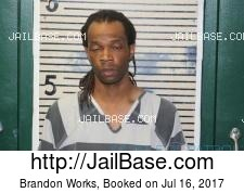 Brandon Works mugshot picture