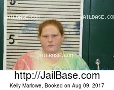 Kelly Marlowe mugshot picture