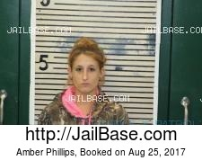 Amber Phillips mugshot picture