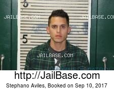 Stephano Aviles mugshot picture